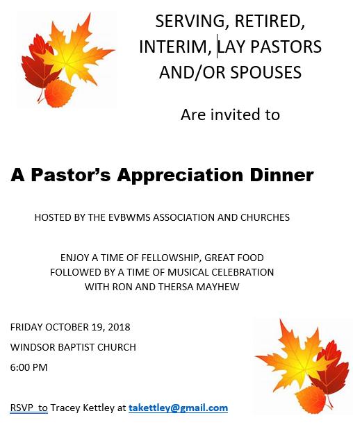 Eastern Valley Baptist Association